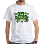 Get Lucky with an Irishman White T-Shirt