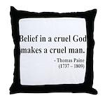 Thomas Paine 20 Throw Pillow