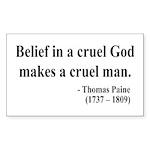Thomas Paine 20 Rectangle Sticker