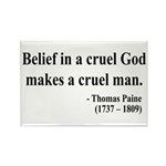 Thomas Paine 20 Rectangle Magnet (100 pack)