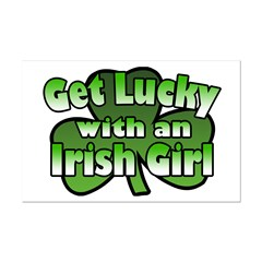 Get Lucky with an Irish Girl Posters