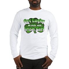 Get Lucky with an Irish Girl Long Sleeve T-Shirt
