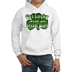 Get Lucky with an Irish Girl Hoodie