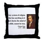 Thomas Paine 19 Throw Pillow
