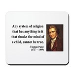 Thomas Paine 19 Mousepad