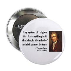 "Thomas Paine 19 2.25"" Button (10 pack)"