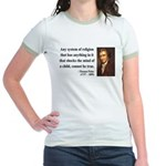 Thomas Paine 19 Jr. Ringer T-Shirt