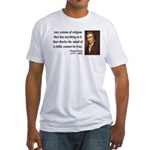 Thomas Paine 19 Fitted T-Shirt
