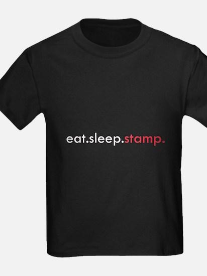 Eat Sleep Stamp T