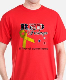 Red Fridays Red T-Shirt