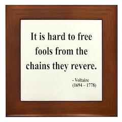 Voltaire 5 Framed Tile
