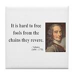Voltaire 5 Tile Coaster