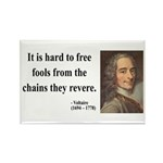 Voltaire 5 Rectangle Magnet (100 pack)