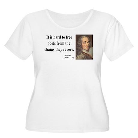 Voltaire 5 Women's Plus Size Scoop Neck T-Shirt