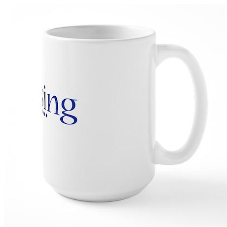 Singer Large Mug