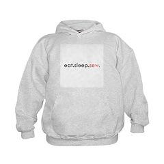 Eat Sleep Sew Hoodie