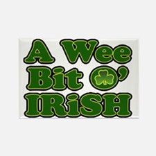 Wee Bit O Irish Rectangle Magnet