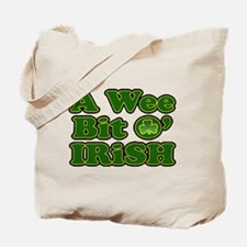 Wee Bit O Irish Tote Bag