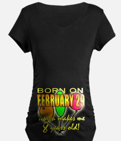Born Feb 29, You're 8 Years Old T-Shirt