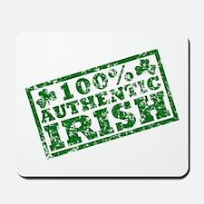 100 Percent Authentic Irish Mousepad