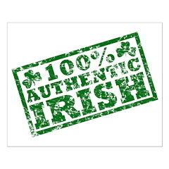 100 Percent Authentic Irish Posters