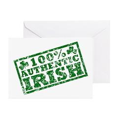 100 Percent Authentic Irish Greeting Cards (Pk of