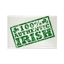 100 Percent Authentic Irish Rectangle Magnet