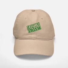 100 Percent Authentic Irish Baseball Baseball Cap