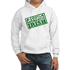 100 Percent Authentic Irish Hoodie
