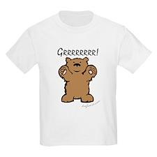 Grrrrrrrr! (Bear) Kids T-Shirt
