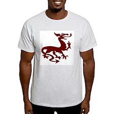Nithhogr Ash Grey T-Shirt
