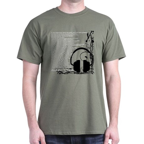 In the beginning... Military Green T-Shirt