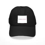 Eat Sleep Needlepoint Black Cap