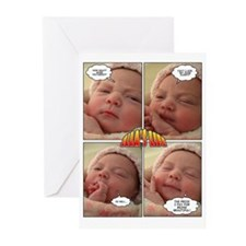 Funny Leilani Greeting Cards (Pk of 20)