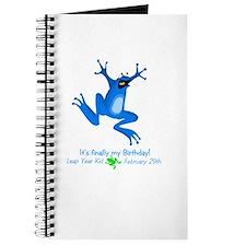 Leap Year Kid Journal