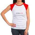 Eat Sleep Crochet Women's Cap Sleeve T-Shirt
