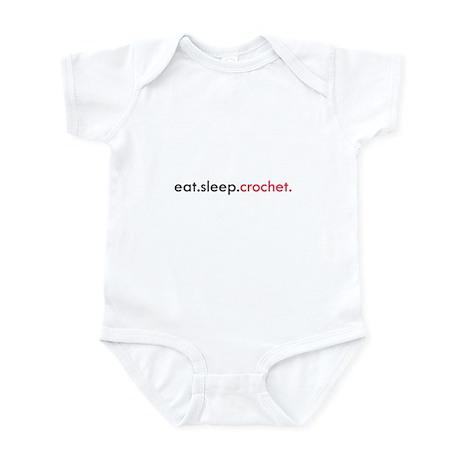 Eat Sleep Crochet Infant Bodysuit