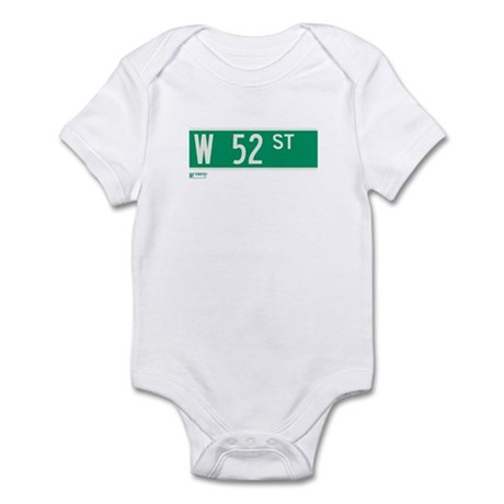 52nd Street in NY Infant Bodysuit
