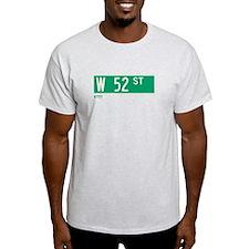 52nd Street in NY T-Shirt