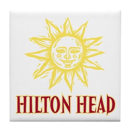 Hilton Head Sol - Tile Coaster