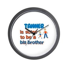 Tanner - Going to be a Big Br Wall Clock