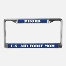 Proud U.s. Air Force Mom License Plate Frame