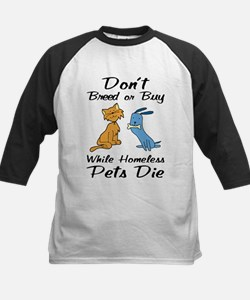 Don't Breed or Buy Cat&Dog Tee