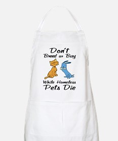 Don't Breed or Buy Cat&Dog BBQ Apron