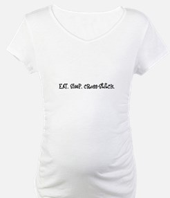 Eat Sleep Cross-Stitch Shirt