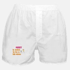 Mary - Going to be a Big Sist Boxer Shorts