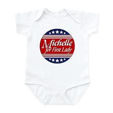 Michelle For 1st Lady Infant Bodysuit