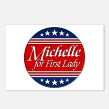 Michelle For 1st Lady Postcards (Package of 8)