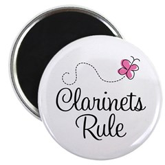 Cute Clarinets Rule Magnet