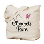 Cute Clarinets Rule Tote Bag